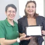 Sinproeste presta homenagem à professora Hilda Beatriz Dmitruk