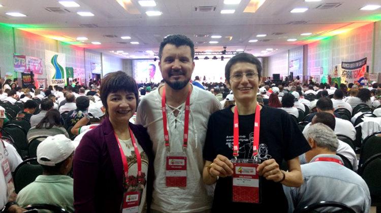 Diretores do Sinproeste participam do 4º Congresso Nacional da CTB