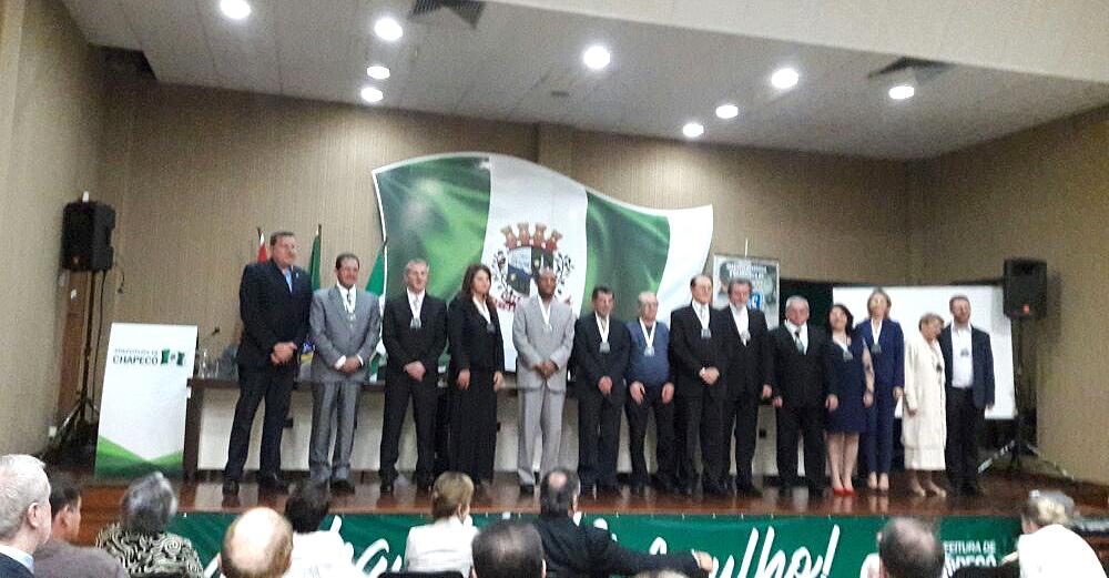 Delegado regional do Sinproeste é membro do Instituto Histórico e Geográfico do Oeste de Santa Catarina