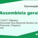 Convocação para a assembleia geral